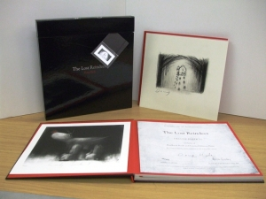 The Lost Reindeer limited edition book and sketch by Doug Hyde