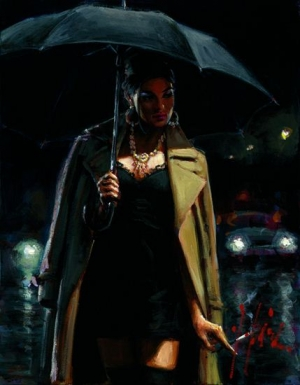 November Rain Marissa by Fabian Perez