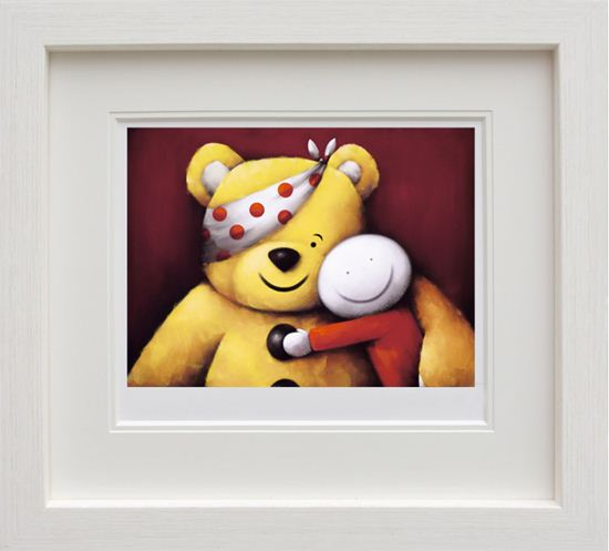 Pudsey framed by Doug Hyde