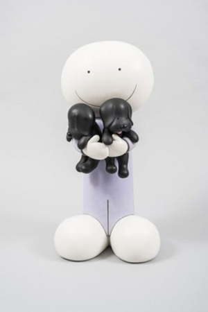 Puppy Love Large by Doug Hyde