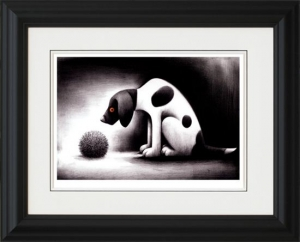 Roll Up framed by Doug Hyde