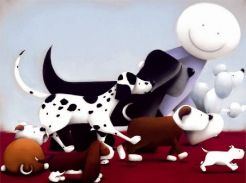 The Dog Walker by Doug Hyde