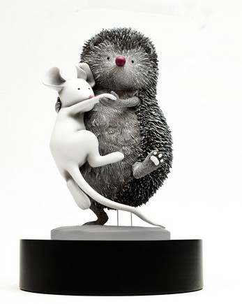 Country Dancing sculpture by Doug Hyde