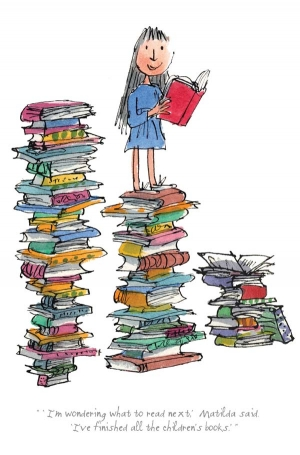 I'm Wondering What To Read Next by Quentin Blake