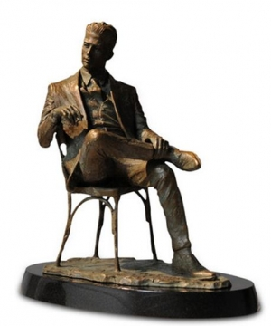 Man Sitting In Chair sculpture by Fabian Perez