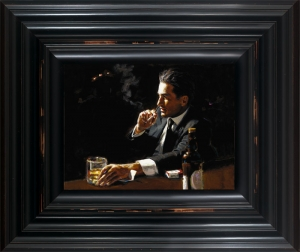Proud To Be A Man III framed by Fabian Perez