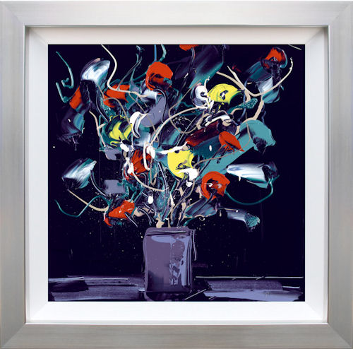 Wild Flowers I framed by Duncan Macgregor
