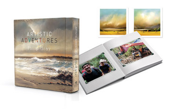 Artistic Adventures Limited Edition Book by Philip Gray