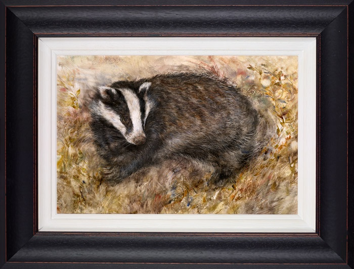 Badger's Rest framed by Gary Benfield