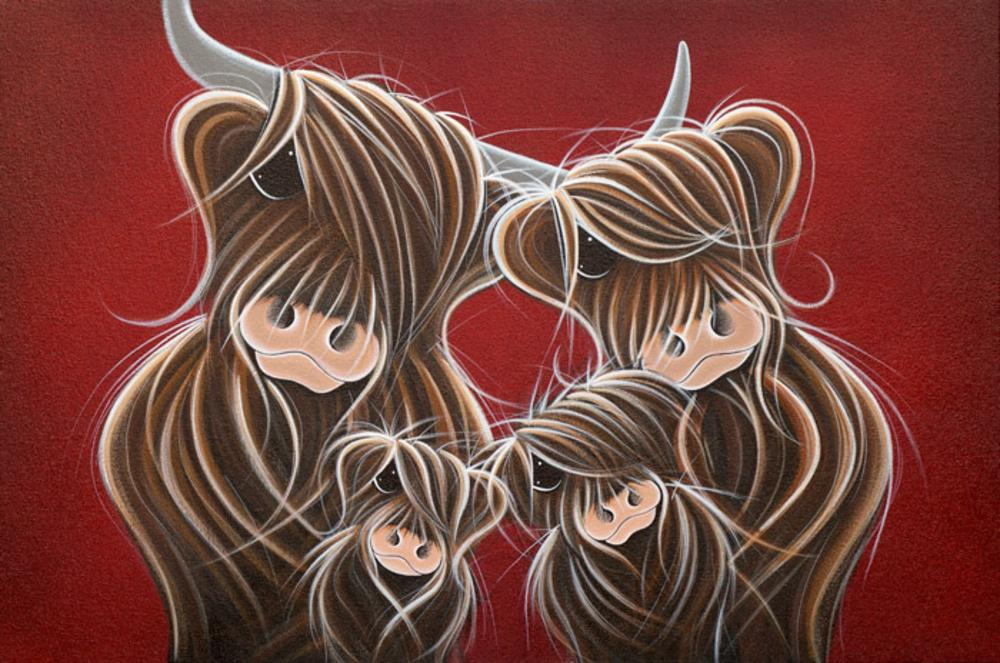 Fa-moo-ly Portrait by Jennifer Hogwood