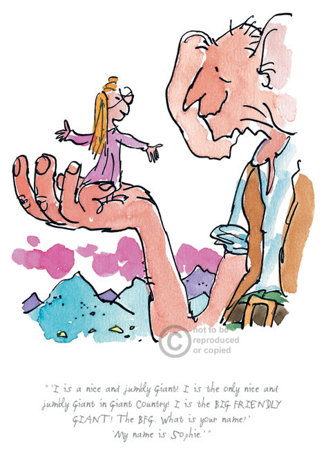 I Is A Nice and Jumbly Giant by Quentin Blake