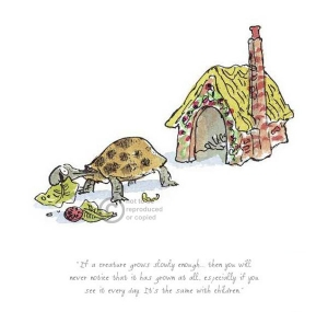 If A Creature Grows Slowly by Quentin Blake