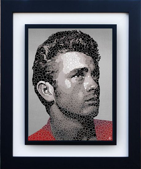James Dean-The Rebel by Paul Normansell