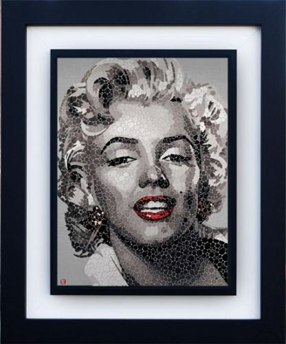 Marilyn-The Blonde by Paul Normansell