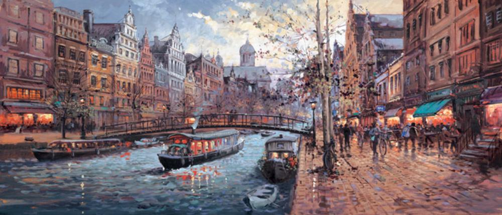 Morning On The Canal by Henderson Cisz