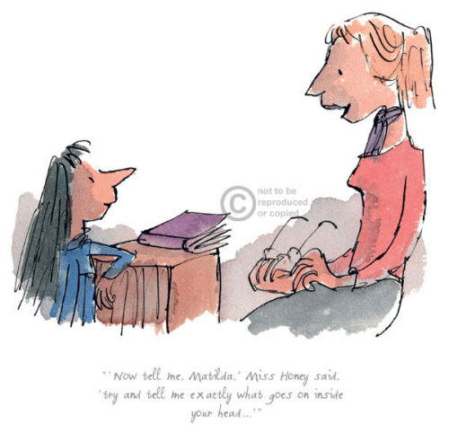 Now Tell Me Miss Honey Said by Quentin Blake