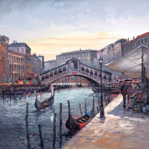 Rialto Bridge by Henderson Cisz