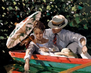 Romance On The River by Sheree Valentine Daines