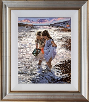 Sunset At The Shore by Sheree Valentine Daines