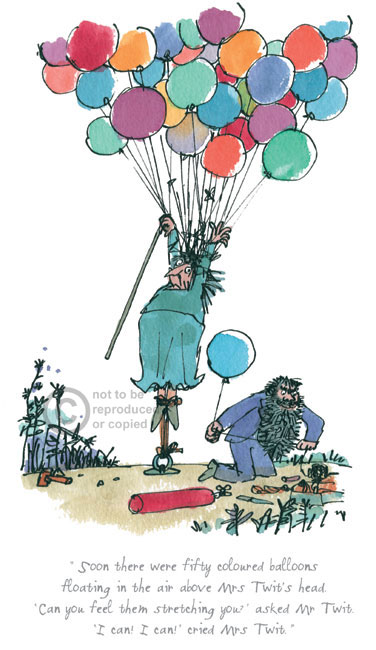 Soon There Were 50 Coloured Balloons by Quentin Blake