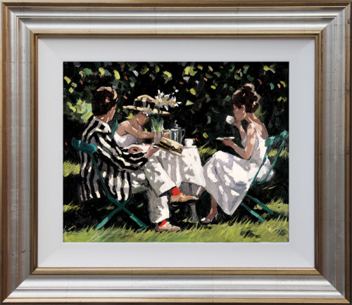 Tea On The Lawn by Sheree Valentine Daines