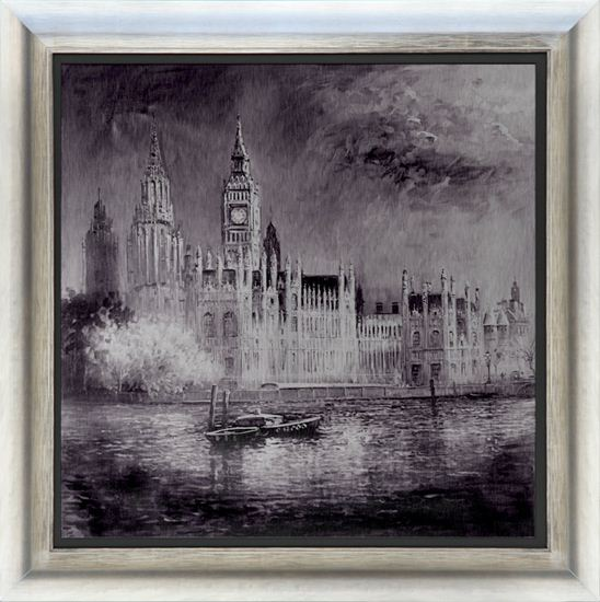 Night On The Thames by Henderson Cisz