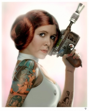 Princess Leia colour