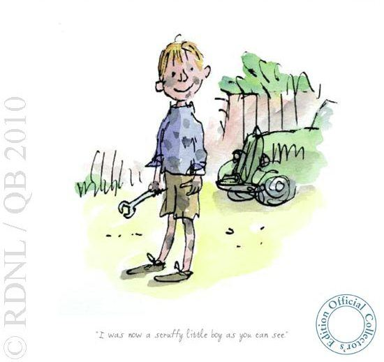 I Was Now A Scruffy Little Boy by Quentin Blake