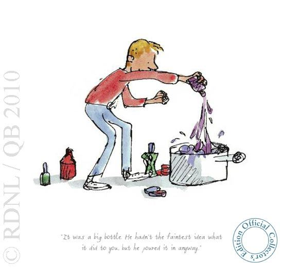 It Was A Big Bottle by Quentin Blake