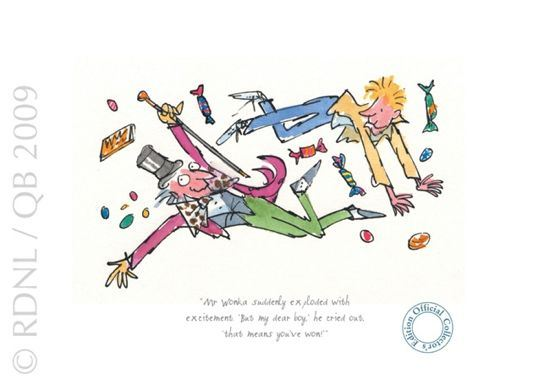 Mr Wonka Suddenly Exploded by Quentin Blake
