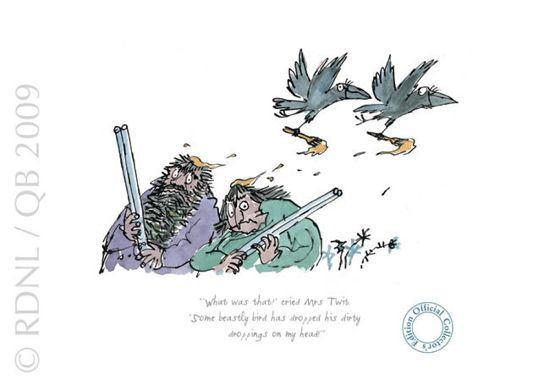 What Was That?, Cried Mrs twit by Quentin Blake