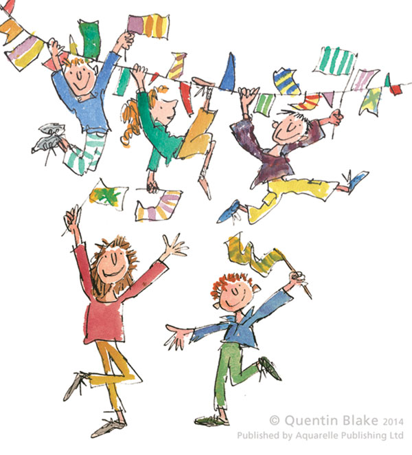 Celebration by Quentin Blake