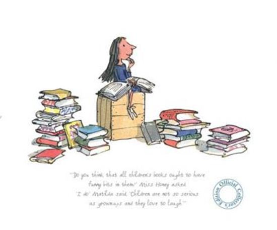 Children Are Not So Serious by Quentin Blake