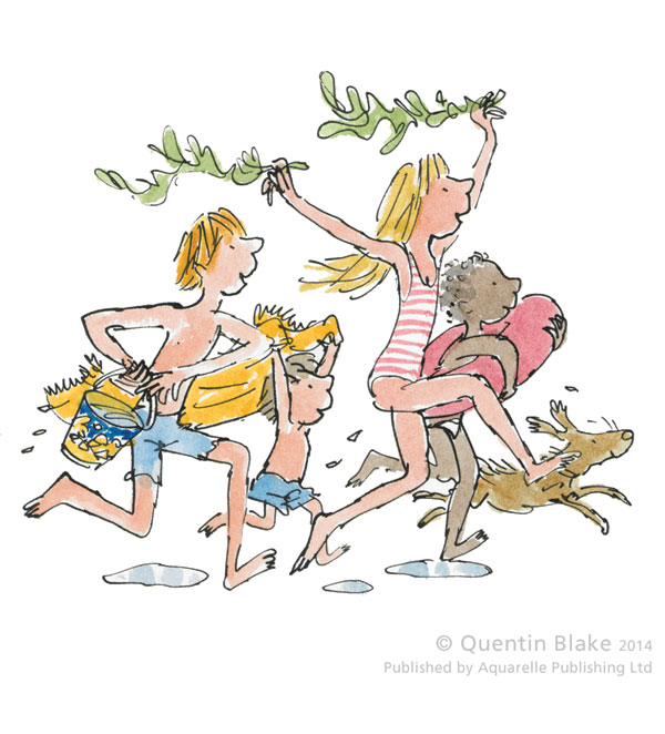 Down To The Beach by Quentin Blake