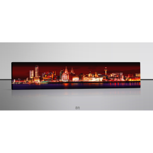 Liverpool Skyline at Night lge