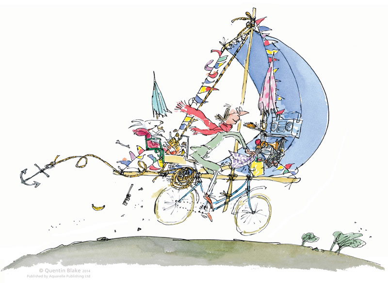 Mrs Armitage by Quentin Blake
