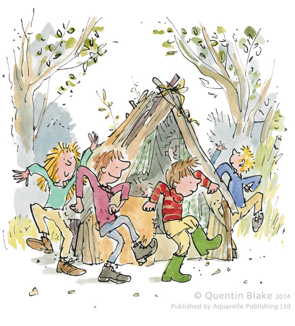 Round and Round The Den by Quentin Blake