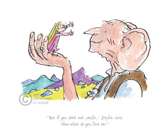 Quotes From The Bfg: The BFG By Quentin Blake