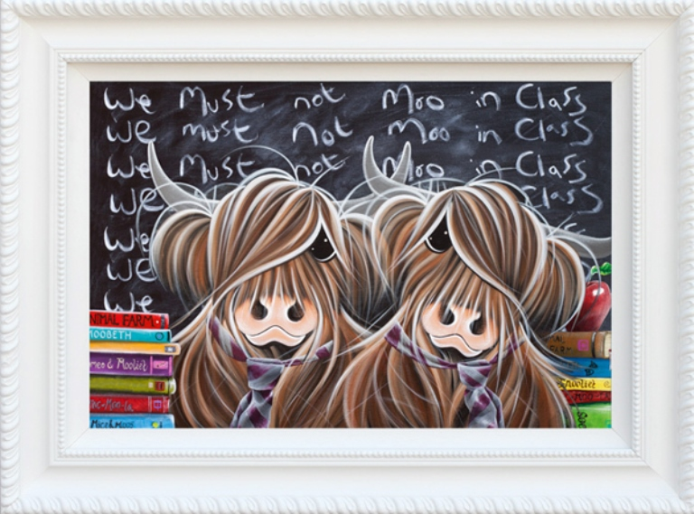 We Must Not Moo In Class by Jennifer Hogwood