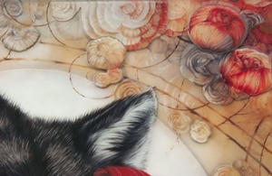 Little Red Riding Hood detail 1