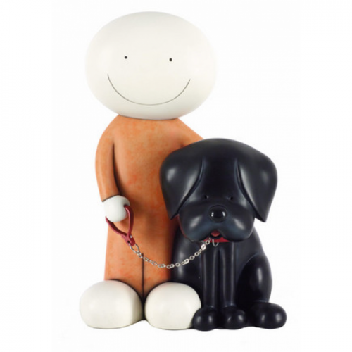 Doug Hyde Beware Of The Dog Ii Sculpture For Sale
