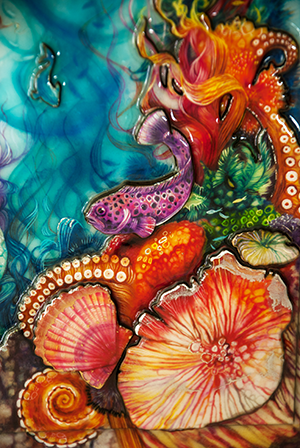 The Little Mermaid Detail 2 by Kerry Darlington