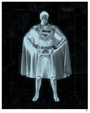 """Clarke"" Superman X-Ray by JJ Adams"
