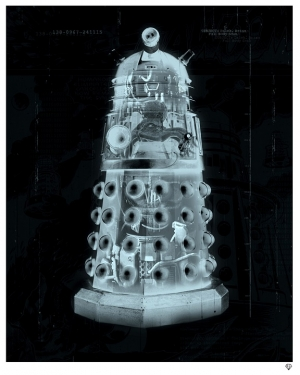 """Exterminate"" Darlek X-Ray by JJ Adams"