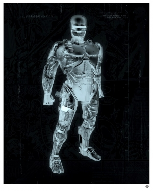 """Murphy"" RoboCop X-Ray by JJ Adams"