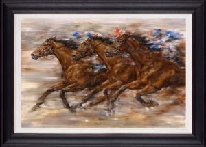 Racing Framed