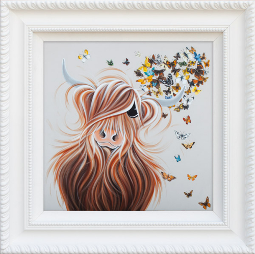 Moos Fluttering Heart by Jennifer Hogwood