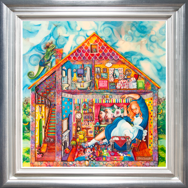 Alice in the White Rabbits House 1