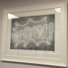 Wow by Courty (framed)