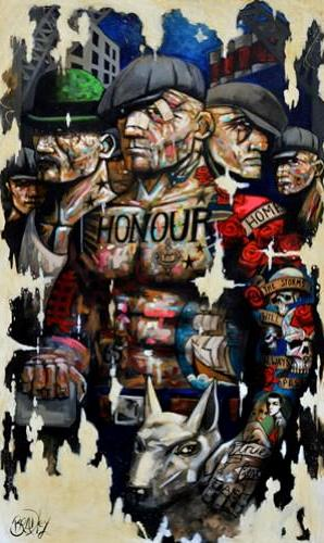 Honour by Terry Bradley (canvas)